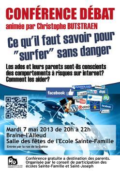 """Conférence débat """"Surfer sans danger"""""""